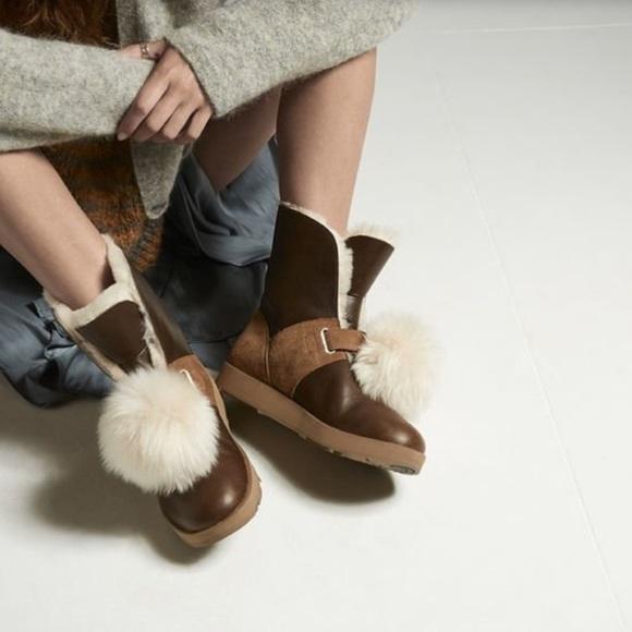 155e613d696 UGG Isley waterproof Chestnut boots